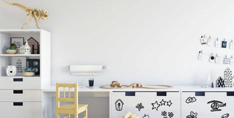 Transparentní popisovatelný nátěr na zeď i nábytek