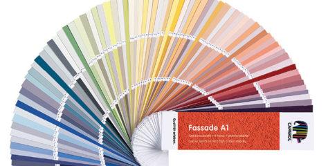 Prémiová fasádní barva Caparol ThermoSan NQG
