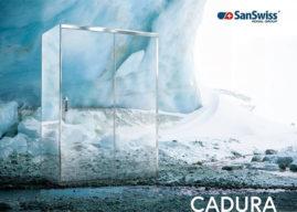 CADURA – nová řada sprchových koutů SanSwiss