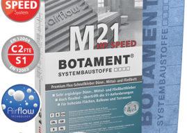 BOTAMENT® M 21 HP Speed C2 FTE S1 – prémiový flexibilní rychleschnoucí lepicí tmel
