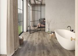 Trendy: laminátová podlaha v koupelně