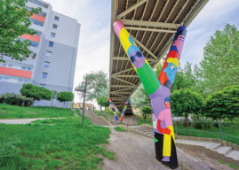 První kroky street artu na Kladně, umění vychází do ulic, na fasády a zdi