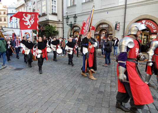 První pochod svatého Lukáše prošel Prahou, uctil řemeslo a patrona malířů a lakýrníků