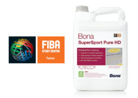 BONA SuperSport Pure HD – pro ošetření elastických podlahovin ve sportovních halách