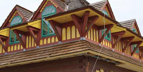 Olejové barvy a jejich využití při rekonstrukci staveb Libušín a Maměnka na Pustevnách