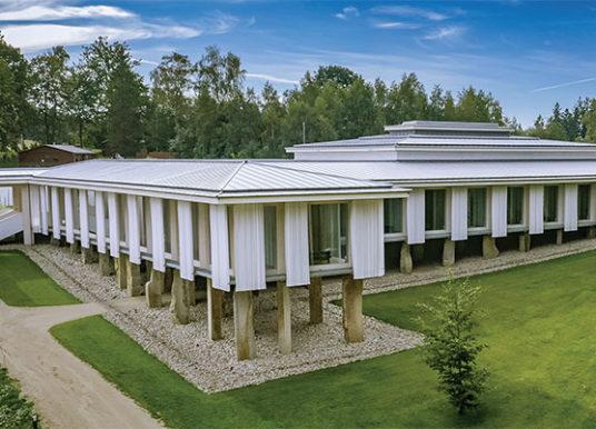 Nový ájurvédský pavilon v resortu Svatá Kateřina – Stavba roku 2019