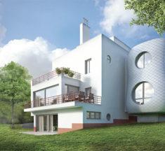 Dům jako socha – rekonstrukce a dostavba prvorepublikové vily