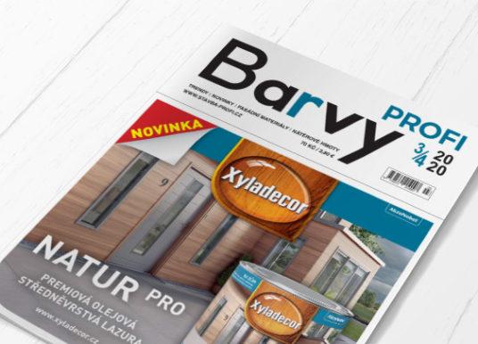BARVY Profi 2020/03-04