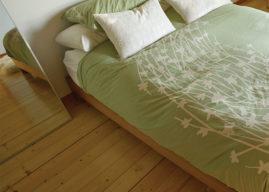 Masivní podlahoviny z jehličnatých dřevin