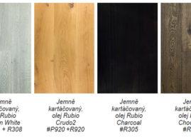 Krásu dřevěných podlahovin Inspiration Wood a Simply Wood podtrhují oleje Rubio® Monocoat