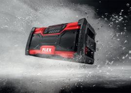 Stavební rádio FLEX AKU, muzika pro každého