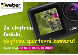 Kchytré fasádě WEBER chytrá sportovní kamera!