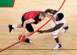 Bona SuperSport, profesionální lakování dřevěných sportovních podlah