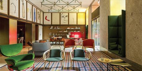 Jak udělat z hotelu domov s koberci a doplňky GAN