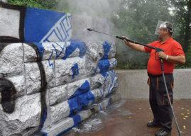 Graffiti se musí odstranit rychle a šetrně