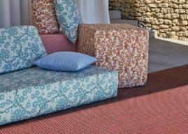 Upcyklace a recyklace je trendy! Designové podlahoviny mohou vzniknout i z odpadních materiálů.