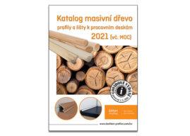 Döllken: Katalog masivní dřevo. Profily a lišty k pracovním deskám 2021.