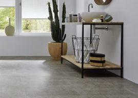 Vinylové podlahoviny Design Stone. Kamenná či betonová alternativa k dřevěným dekorům.