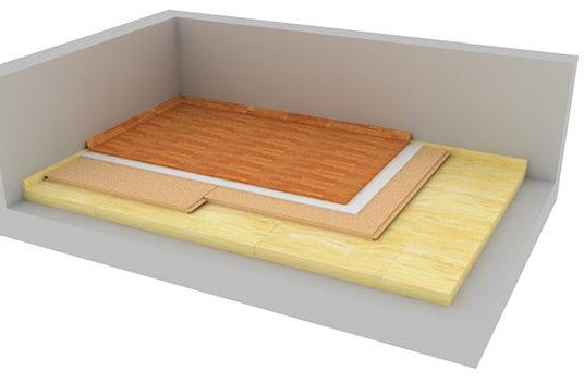 Kročejová izolace podlahy – časté otázky při návrhu a realizaci