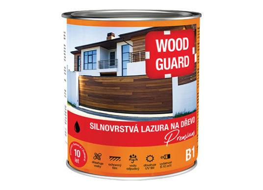 WOODGUARD, silnovrstvá lazura na dřevo Premium