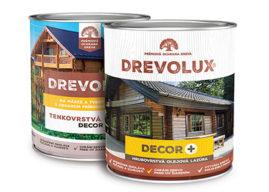 DREVOLUX DECOR PLUS, olejová tixotropní rozpouštědlová lazura na dřev