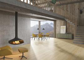 Natur! Pur, spa, schody, tilo aplikace pro simulaci položené podlahy